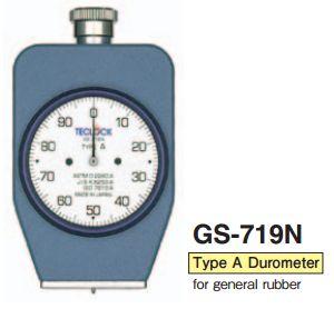 Đồng hồ đo độ cứng cao su Teclock GS-719N