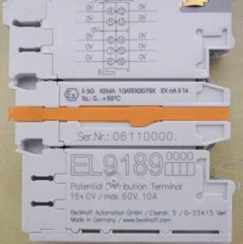 Đầu phân phối 16K/0V Beckhoff EL9189- Beckhoff Vietnam