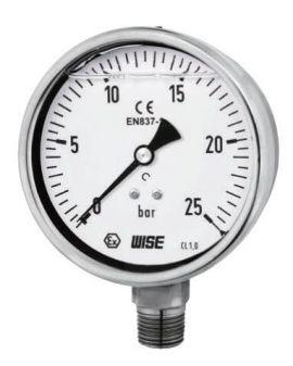 Đồng hồ đo áp suất Wise P258