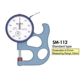 Đồng hồ đo độ dày Teclock SM-112, Dial thickness gauge