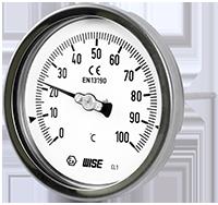 Đồng hồ đo nhiệt độ Wise tại Việt Nam
