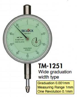 Đồng hồ so Teclock TM-1251