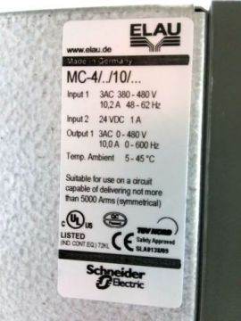 PACDRIVE Mc-4/11/10/400 Elau Schneider Electric-Elau Schneider Vietnam