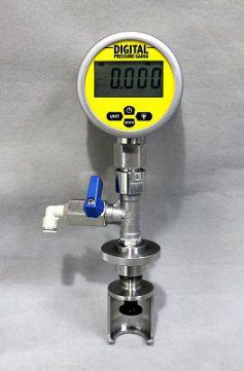 Thiết bị đo áp suất, chân không chai bằng tay AT2E PVG-P